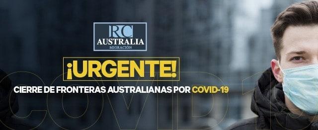 COVID - 19 y la frontera Australiana