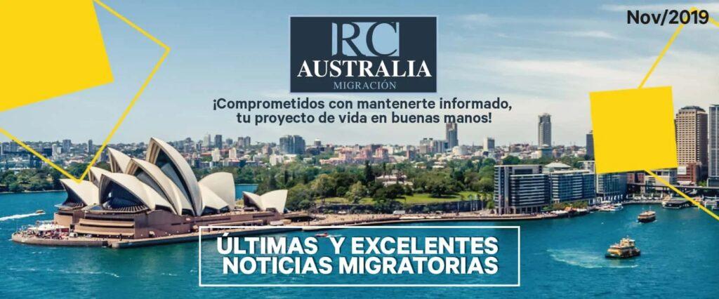 noticias migración a autralia